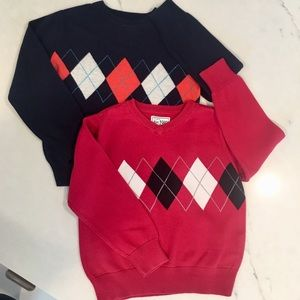 Children's Place Boys Argyle Sweaters